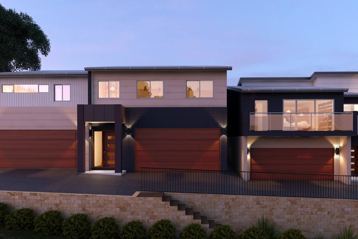 Brand new three bedroom luxurious home